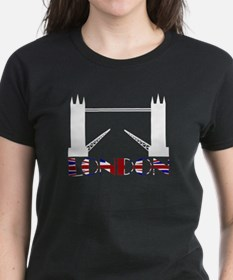 London Tower Bridge Union Jack Tee