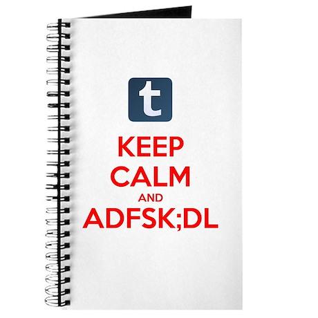 Keep Calm and KEYSMASH Journal