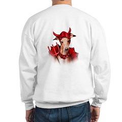 Italian Greyhound Devil Dog Sweatshirt