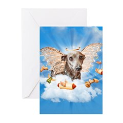 Italian Greyhound Lil Angel Greeting Cards (Packag