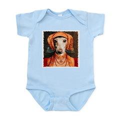 Italian Greyhound Elizabethan IG Infant Creeper