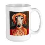 Italian Greyhound Elizabethan IG Large Mug