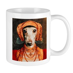 Italian Greyhound Elizabethan IG Mug