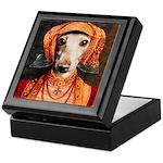 Italian Greyhound Elizabethan IG Keepsake Box