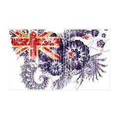 New Zealand Flag 38.5 x 24.5 Wall Peel