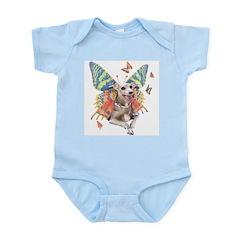 Italian Greyhound Butterfly Dog Infant Creeper
