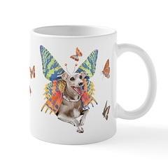 Italian Greyhound Butterfly Dog Mug