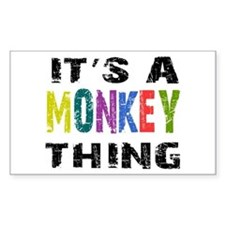 Monkey THING Stickers