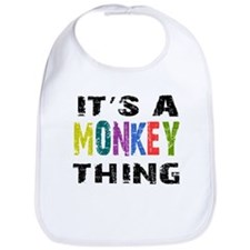 Monkey THING Bib