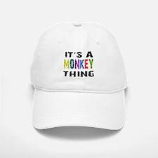 Monkey THING Baseball Baseball Cap