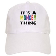 Monkey THING Baseball Cap