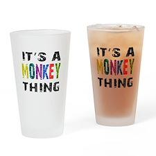 Monkey THING Drinking Glass