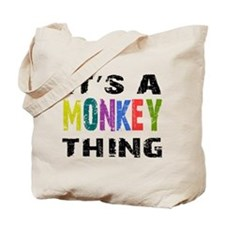 Monkey THING Tote Bag