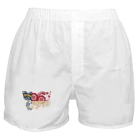 North Carolina Flag Boxer Shorts