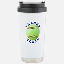 Softball Coach Thank You Unique Gifts Travel Mug