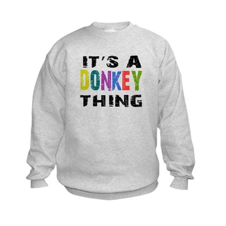 Donkey THING Kids Sweatshirt