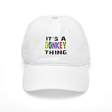 Donkey THING Baseball Cap