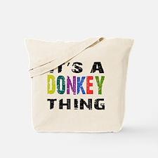 Donkey THING Tote Bag