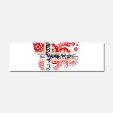 Norway Flag Car Magnet 10 x 3