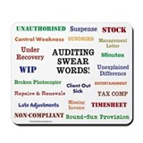 Auditor funny Classic Mousepad