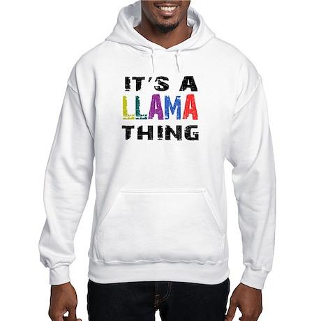 Llama THING Hooded Sweatshirt