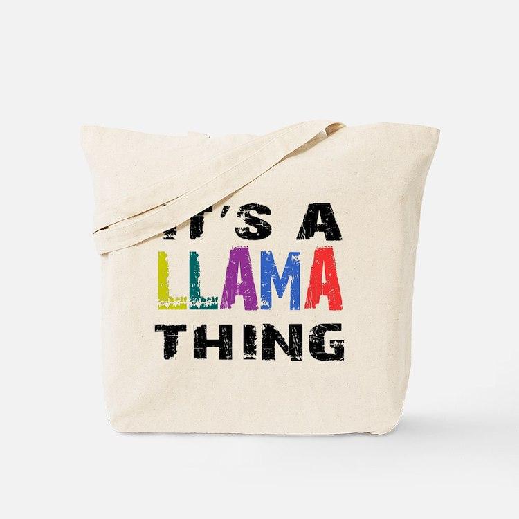 Llama THING Tote Bag