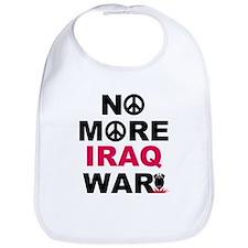 No More Iraq War! Bib