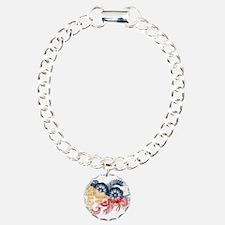 Philippines Flag Bracelet