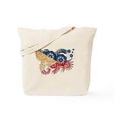 Philippines Flag Tote Bag