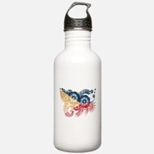 Philippines Flag Water Bottle