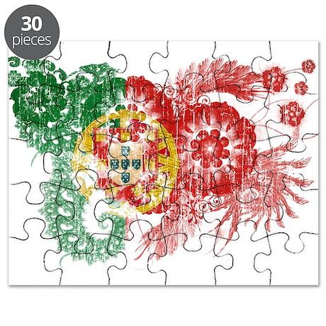 Portugal Flag Puzzle