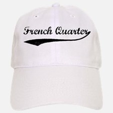 French Quarter - Vintage Baseball Baseball Cap