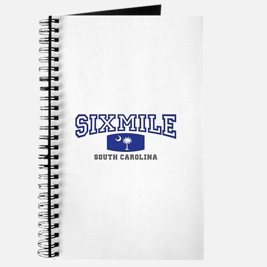 Six Mile South Carolina, SC, Palmetto State Flag J