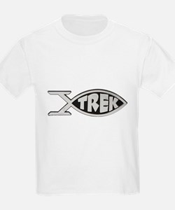 trek fish star trek design T-Shirt