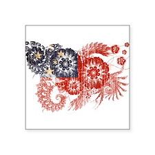 """Samoa Flag Square Sticker 3"""" x 3"""""""