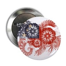 "Samoa Flag 2.25"" Button (100 pack)"