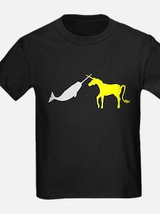 Narwhal Versus Unicorn T