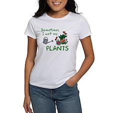 I Wet My Plants Tee