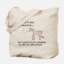 Unicorn Accident Tote Bag