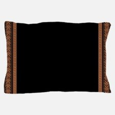 Ancient Greek Floral Pattern Pillow Case