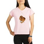 Red Silkie Chick Performance Dry T-Shirt