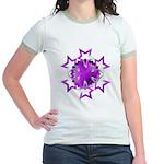 Purple Stars Jr. Ringer T-Shirt