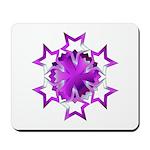 Purple Stars Mousepad