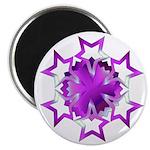 Purple Stars Magnet