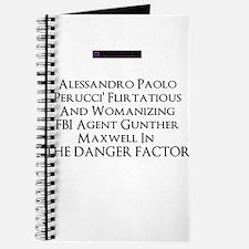 2013 novel The Danger Factor Journal
