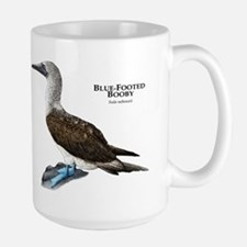 Blue-Footed Booby Large Mug