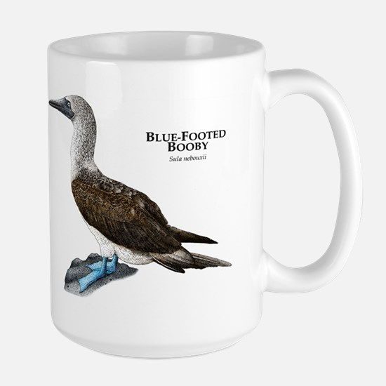 Blue-Footed Booby Large Mug