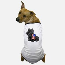 4th of July Scottie Dog T-Shirt