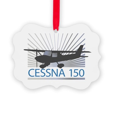 Aircraft Cessna 150 Picture Ornament