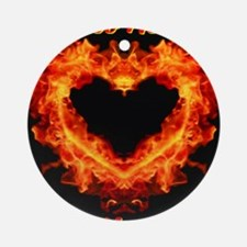 Too Hot To Handle! Ornament (Round)